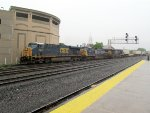 CSX Intermodal Arriving @ Worcester