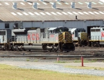 Motive power in KCS' Deramus Yard