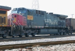 UP 6367 on NB coal train