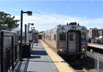 NJT Train # 4728 with Comet Set arriving into Asbury Park Station