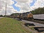 CSX 761, 555, and 209 take a breather