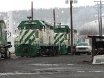 Idaho Northern and Pacfic Yard at Island City, OR