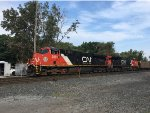 CN Coal Train Departs Gary