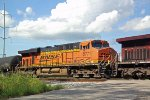 BNSF 5771 third unit on CP 288 switching