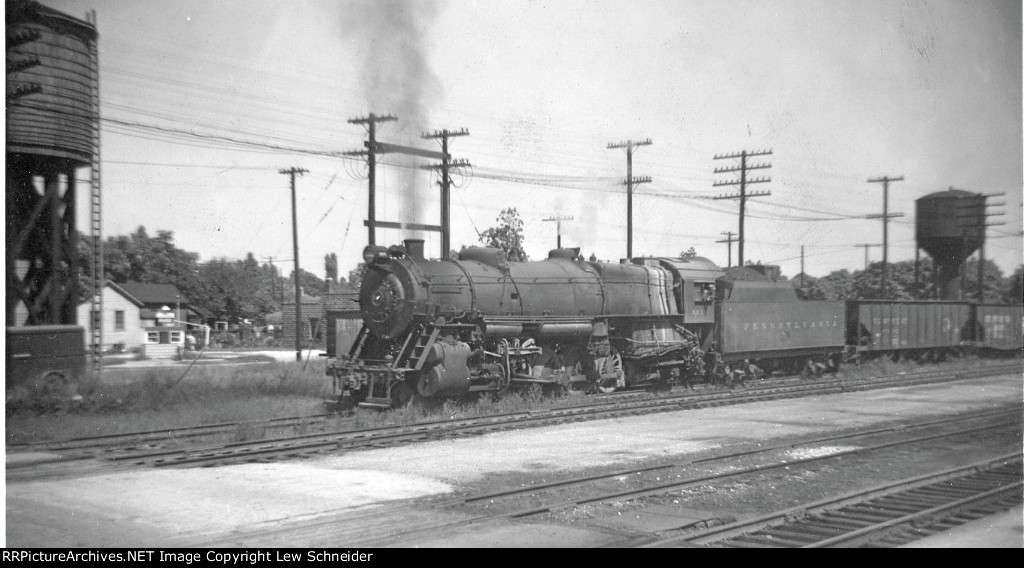 PRR N2sa 8015 on a coal train