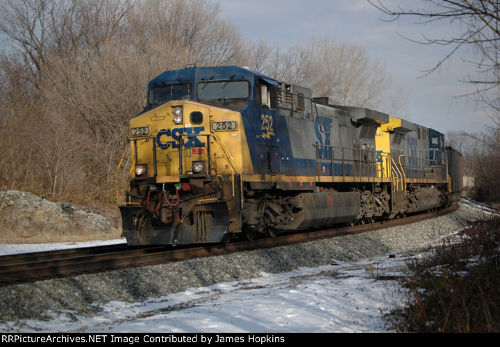 CSXT E721 Shen Jan 14th 2011