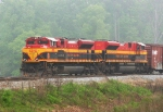 A pair of Southern Belles switching