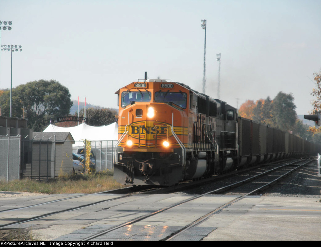 BNSF Power For CP Coal