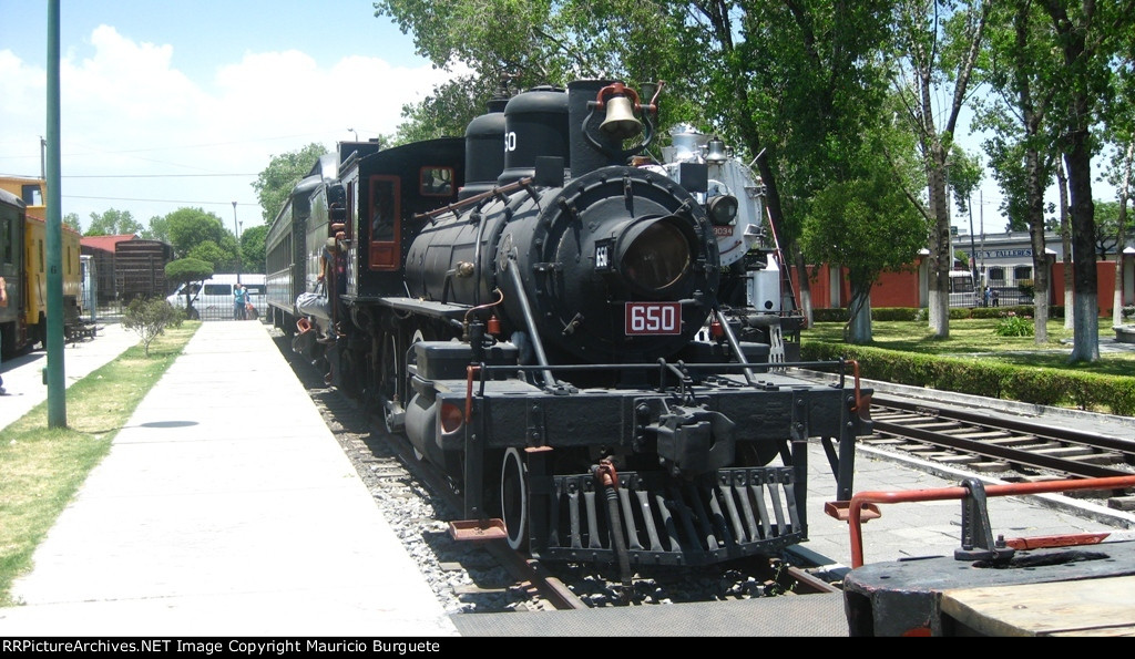 Nacionales de Mexico Steam loco