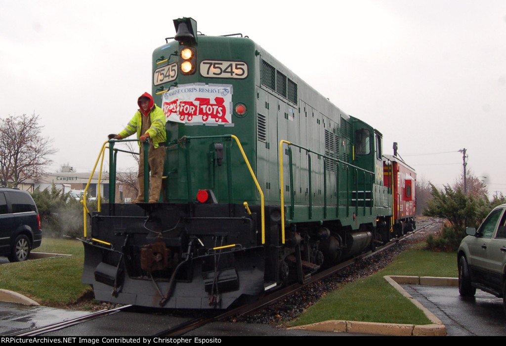 Raritan Central Christmas Train