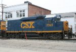 CSX 2323 on SB freight