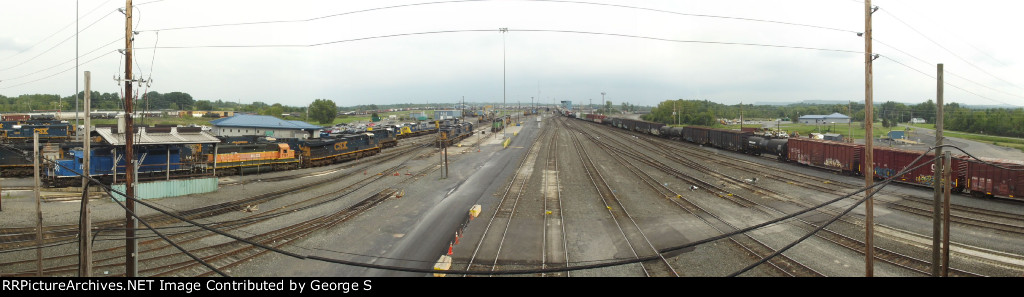 Panorama Shot of Selkirk Yard