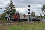 Local G67 splits the signals going west