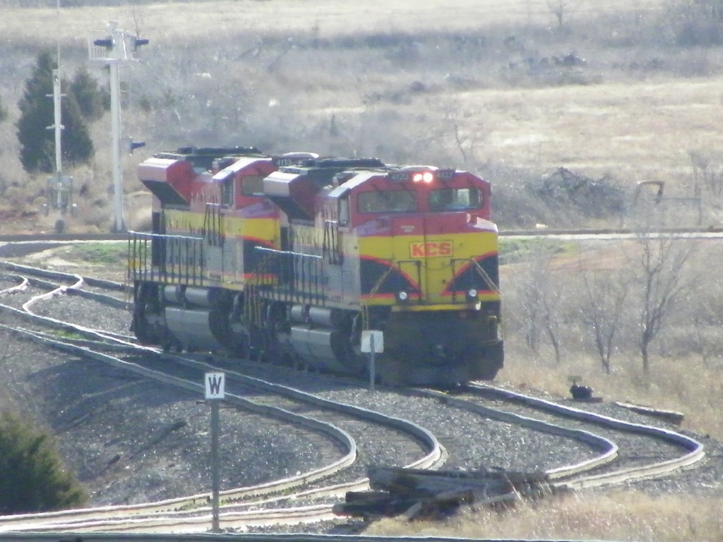 KCS SD70ACe 4123