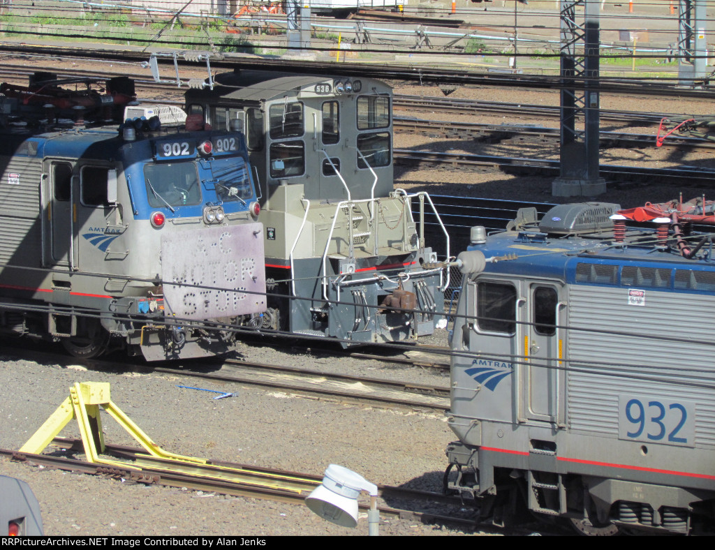 Amtrak engines