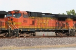 BNSF 5362 on WB freight