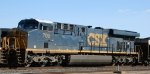 CSX 709 is power for a coal train