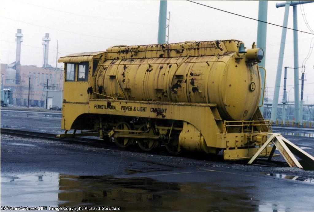 Pp Amp L Fireless Steam Locomotive