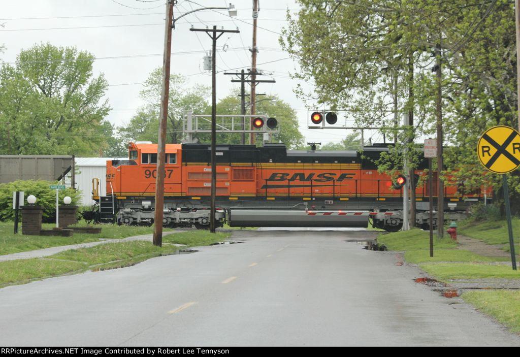 BNSF Northbound Coal T...